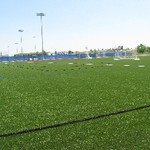 Outdoor Turf Fields side view